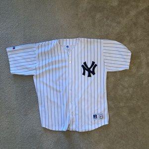 Vintage New York Yankees Pinstripe Jersey